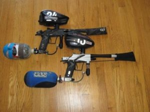 paintball marker, paintball puska, paintball fegyver