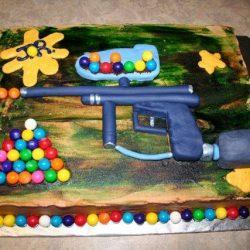 paintball, puding és paintball