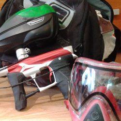 paintball felszerelés, paintball tár, paintball maszk, paintball palack